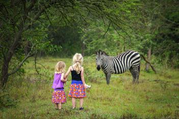 Сафари с детьми
